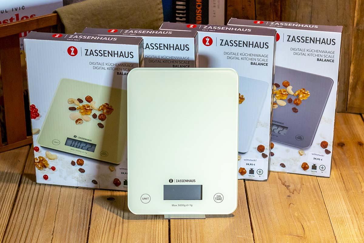 Zassenhaus: digitale Küchenwaage / 24,95 €