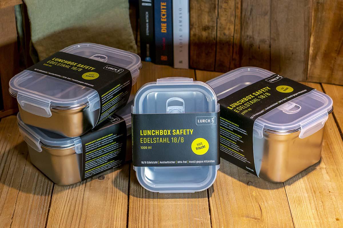Lurch: Lunchbox Edelstahl / 14,95 € bis 17,95 €