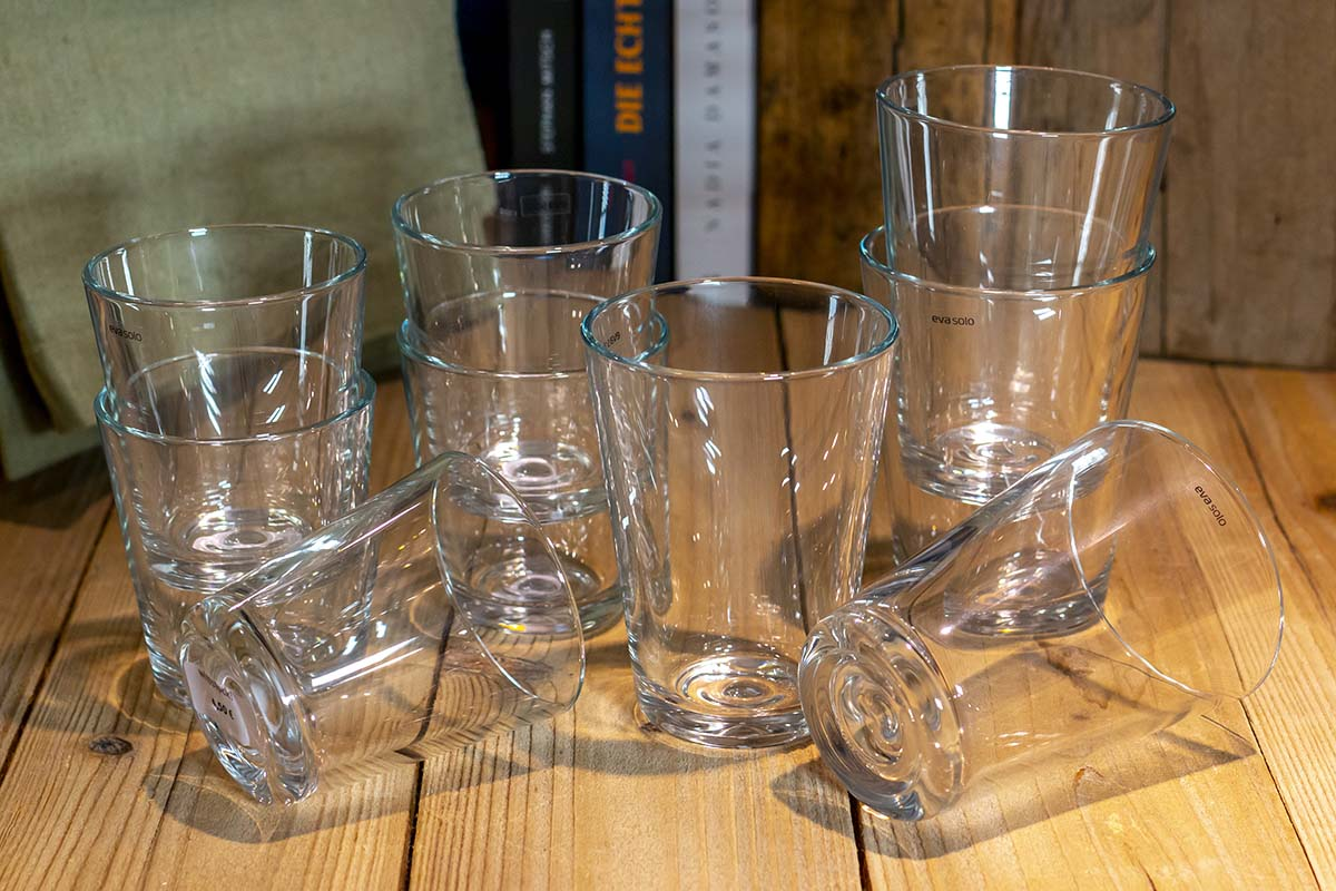 Eva Solo: Trinkglas / 4,50 € / 6,50 €