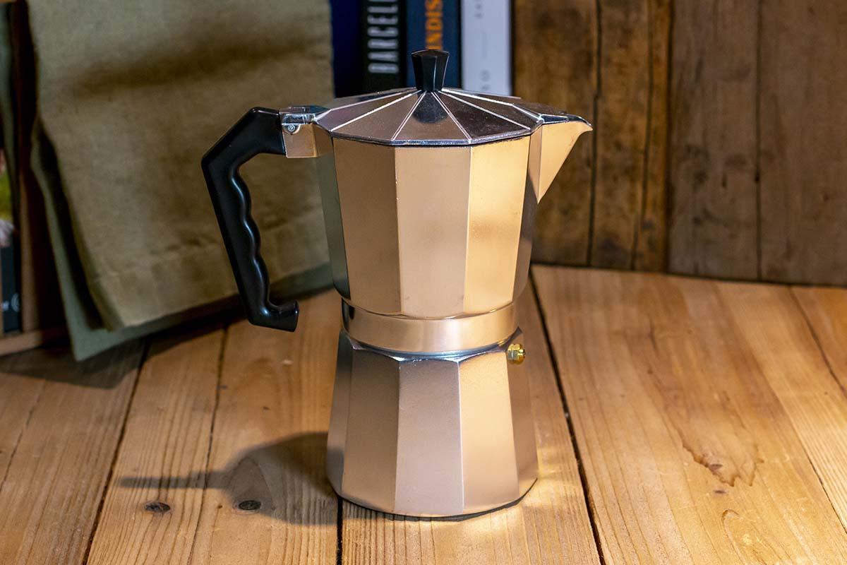 Cilio: Espressokocher, Aluminium mit Edelstahlboden / 34,95 €