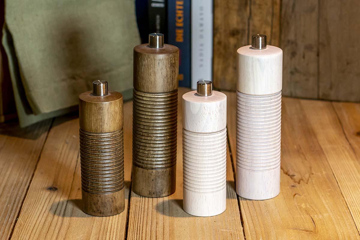 Gefu: Salz-/Pfeffermühle mit Keramikmahlwerk / 22,95 € / 27,95 €