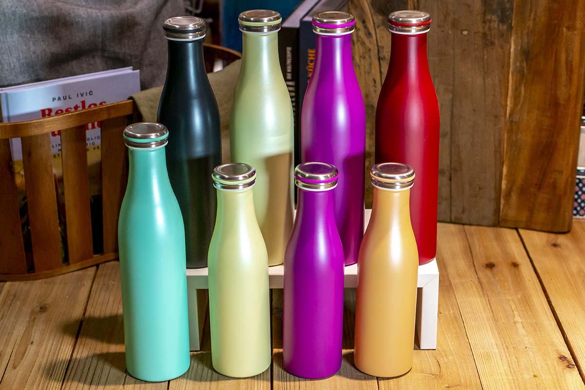 Lurch: Isolierflasche Edelstahl / 500 ml - 16,95 € / 750 ml - 19,95 €