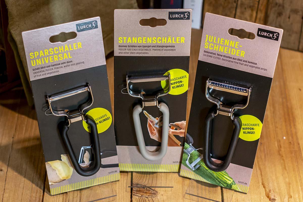 Lurch: Sparschäler | Stangenschäler | Julienne-Schneider / 10,00 €